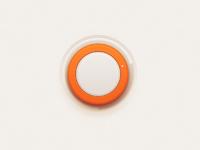 Orange knobbig