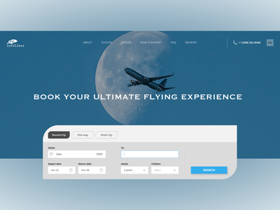 Hero Section website booking system webdesign hero image hero section landingpage design ui ux