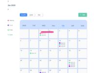 event calendar month