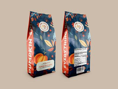 Pumpkin Spice & Everything Nice packaging illustration design
