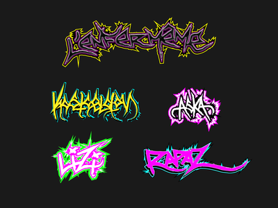So this is my crew design brutalism fluo typo