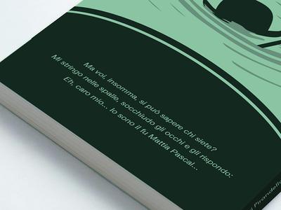 Il Fu Mattia Pascal (The Late Mattia Pascal) editorial illustration design italian literature collection covers cover books book pirandello luigi