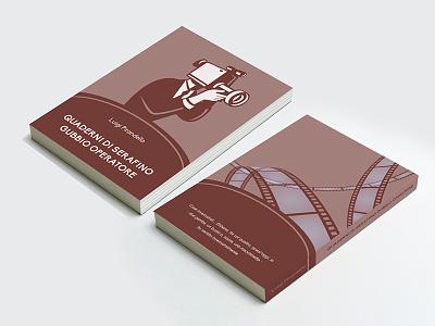 QUADERNI DI SERAFINO GUBBIO (Serafino Gubbio's Journals) editorial illustration design italian literature collection covers cover books book pirandello luigi