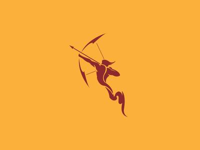 Sagittarius mythology minimal graphic arrow astrology archer sign zodiacal illustration zodiac sagittarius