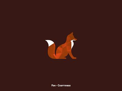 Fox - Craftiness illustration animals animal collection design minimal
