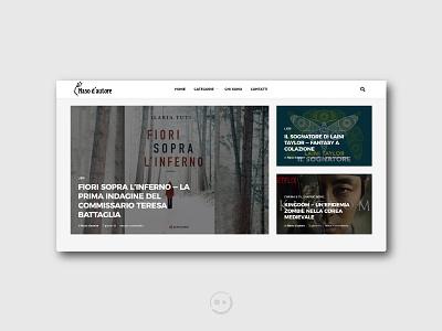 Naso d'autore graphic reviews website concept inspiration blog logo uiuxdesign design web design website