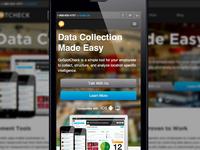 GoSpotCheck Marketing Site v2.0 Mobile