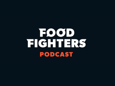 Food Fighters Logo Animation icons branding logo brand vector svg animation css morph svg