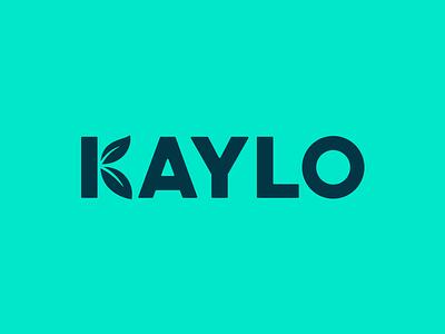 Kaylo Logo brand startup location kaylo leaves leaf logotype logo
