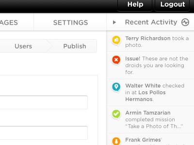 Web Design Project web website ui web design icons buttons list
