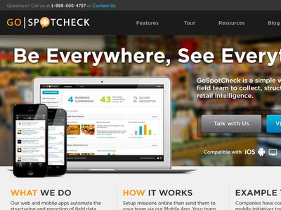 GoSpotCheck Marketing Site v2.0