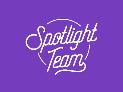 Spotlight Team Logo logotype logo design logo