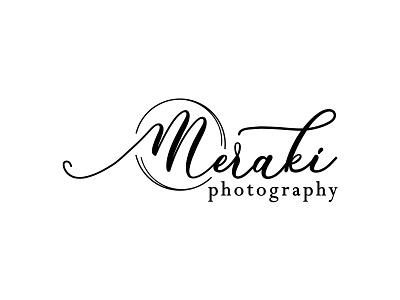 Meraki Photography Logo branding logotype logo design logo