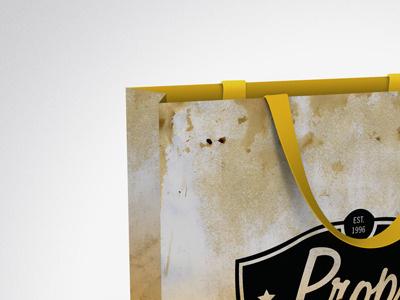 Check Out Bag merch bag store branding