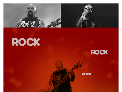 Kerry King print poster collage typography web design music rock