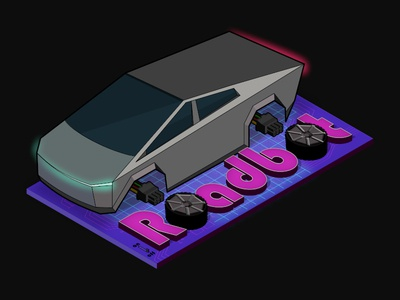 Daily Logo 05 Driverless Car Logo - RoadBot