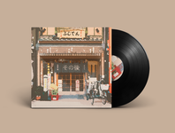 Kirin Shop Single Out Now! music player new music spotify musician illustration lofi vinyl artwork album artwork album music