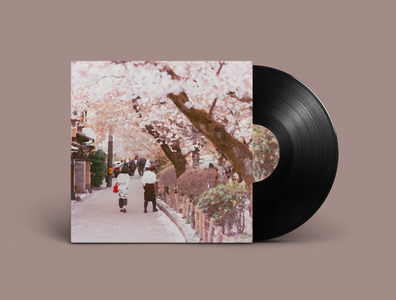 Afternoon Coffee Single Out Now! illustration painting abstract downtempo ambient album cover hip hop lofi hip hop lofi album artwork album vinyl record vinyl music