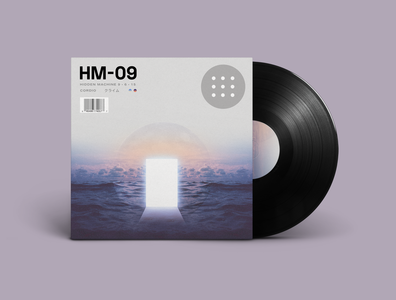 HM-09 is Out Everywhere Now! sample beats rap hip hop lofi vinyl record vinyl album cover album artwork album music