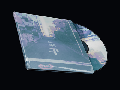 New Music! Distanced Single Out Now illustration minimal design ambient abstract photoshop graphic design background music beats hip hop lofi jewelcase artwork album cd vinyl producer musician music