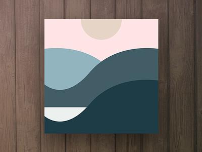 Figured - Cordio vinyl art album artwork minimal cover water ambient music producer cordio
