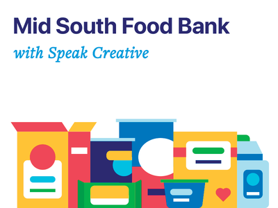 Food Bank canned oatmeal water cereal dry speak bank drive food illustration icons icon