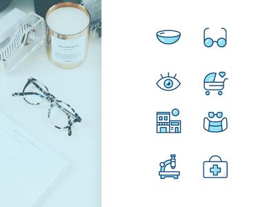 Eye Center Iconography
