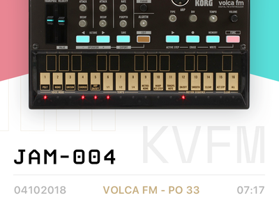 JAM-004 by Cordio op-1 music video pocket operator teenage engineering youtube jam beat ambient production hip hop