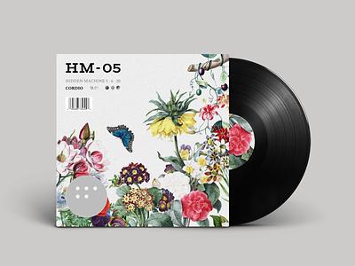 HM-05 Available Now! vintage flower producer musician vinyl disc cd album cover album album artwork music album music
