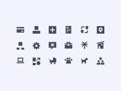 Mothership Iconography design ui web cargo shipping freight product app iconography vector icon icons illustration