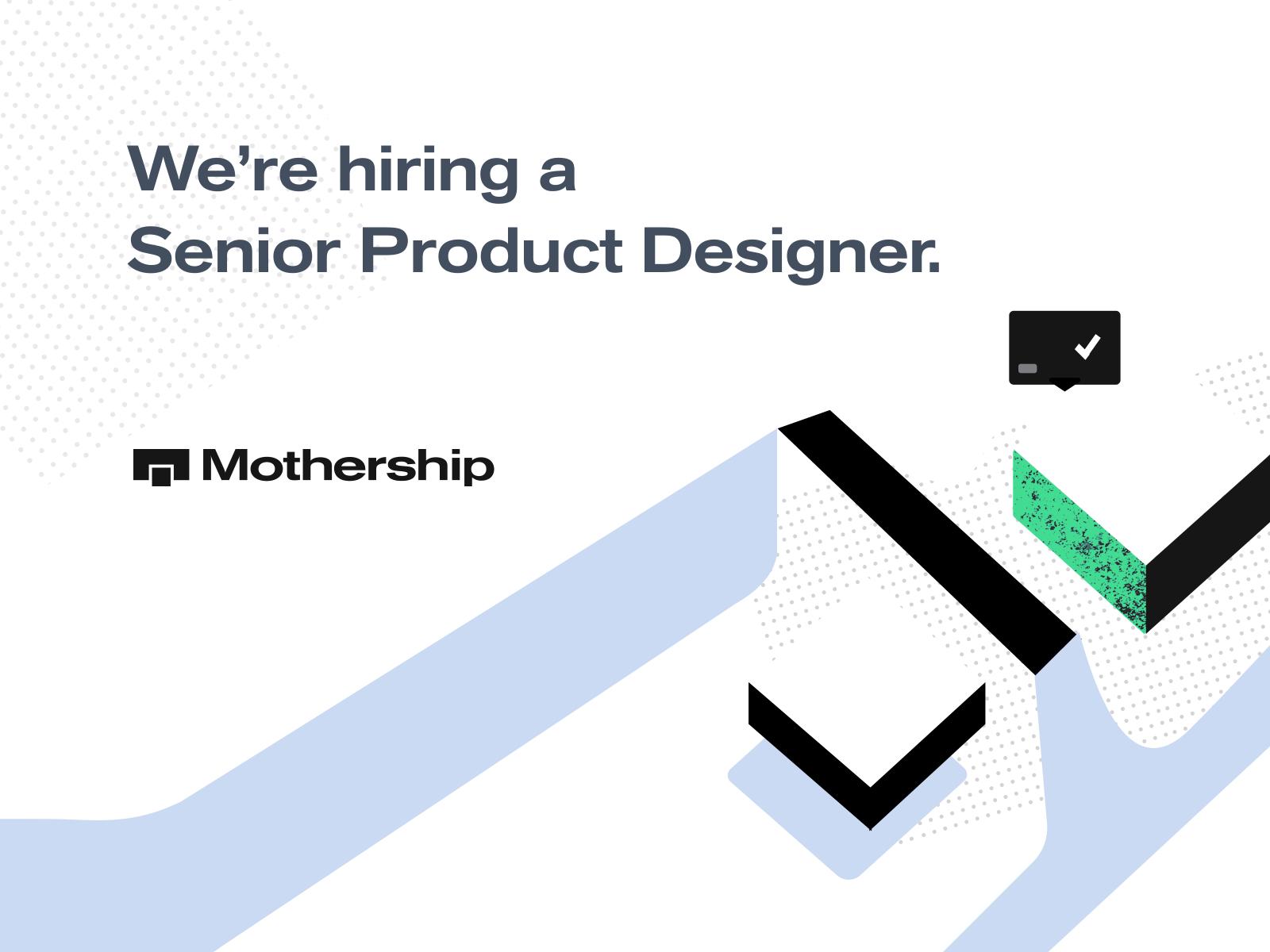 We're Hiring a Senior Product Designer!