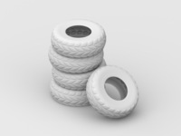 Spare Tire Pile - WIP