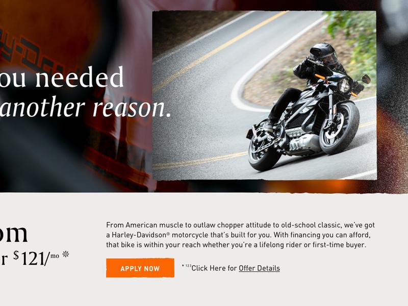 Motorcycle ui
