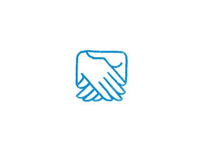Hands logo hands