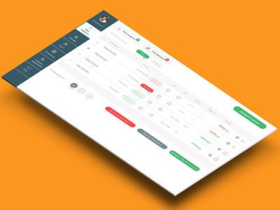 dashboard dashboard interfase web ux ui site pegs landing digital design