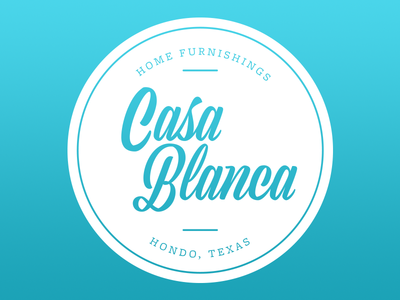 Rejected Casa Blanca Logo