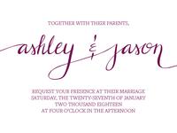 Rejected Wedding Lettering (2)
