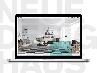 Neue Design Haus modern web design