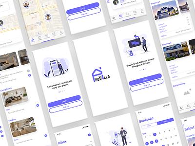 ProVilla Property Owners App mobile ui design ui design ux design