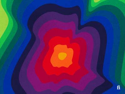 Color Exploration #01 dark hue color
