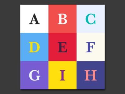 Baskerville 💛 typography colors color font