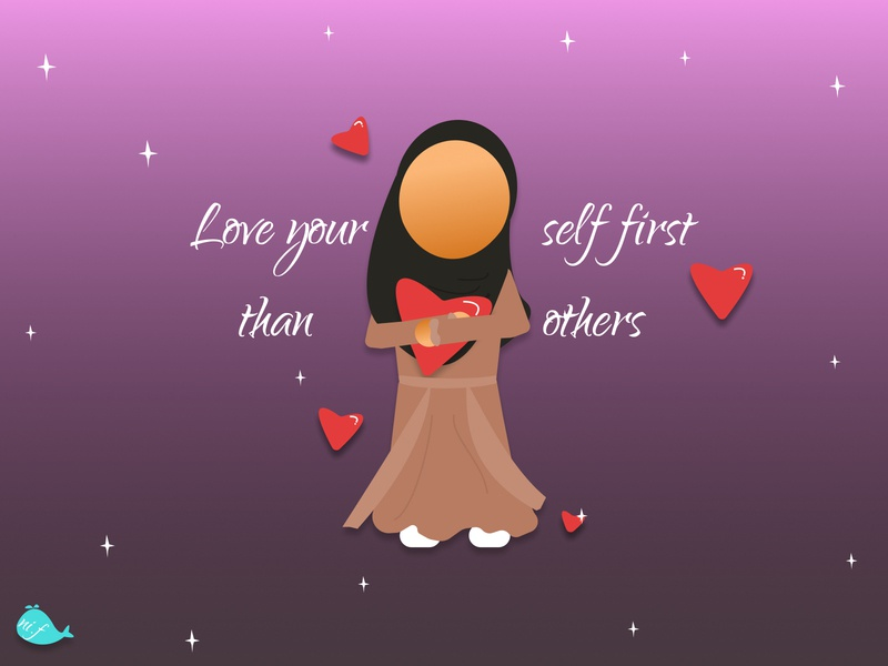 love self first.