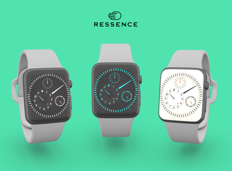 Ressence Apple Watch Concept