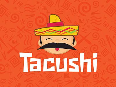 Tacushi  typography branding art direction