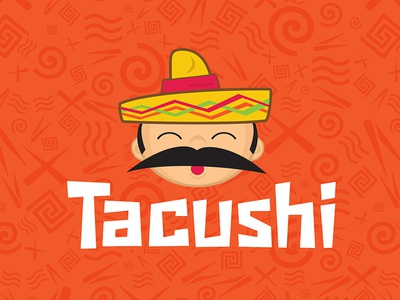 Tacushi  typography branding art direction