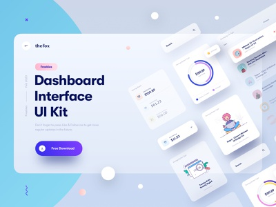Freebie | Dashboard Interface Elements element search illustration illustrations chart earning statement design ui ux card cards ui design free download icons icon mobile freebie app app icon