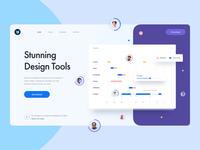 Freebie | Design Tool Landing Page