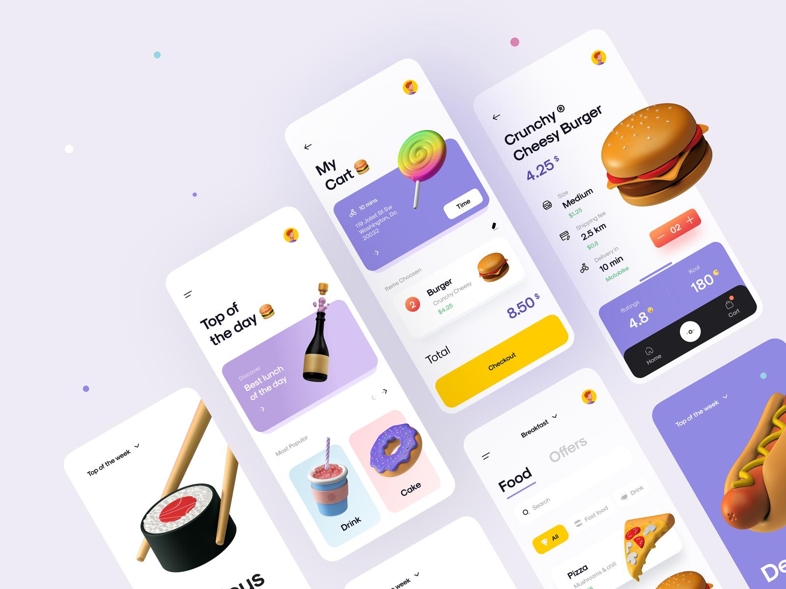 Food App 2.0 🌭🥗🍉🍭
