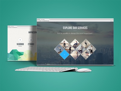 Emodo | Business PSD Theme emodo business psd download psd psd template corporate one page creative