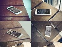Dribbble iphone 6 mockup